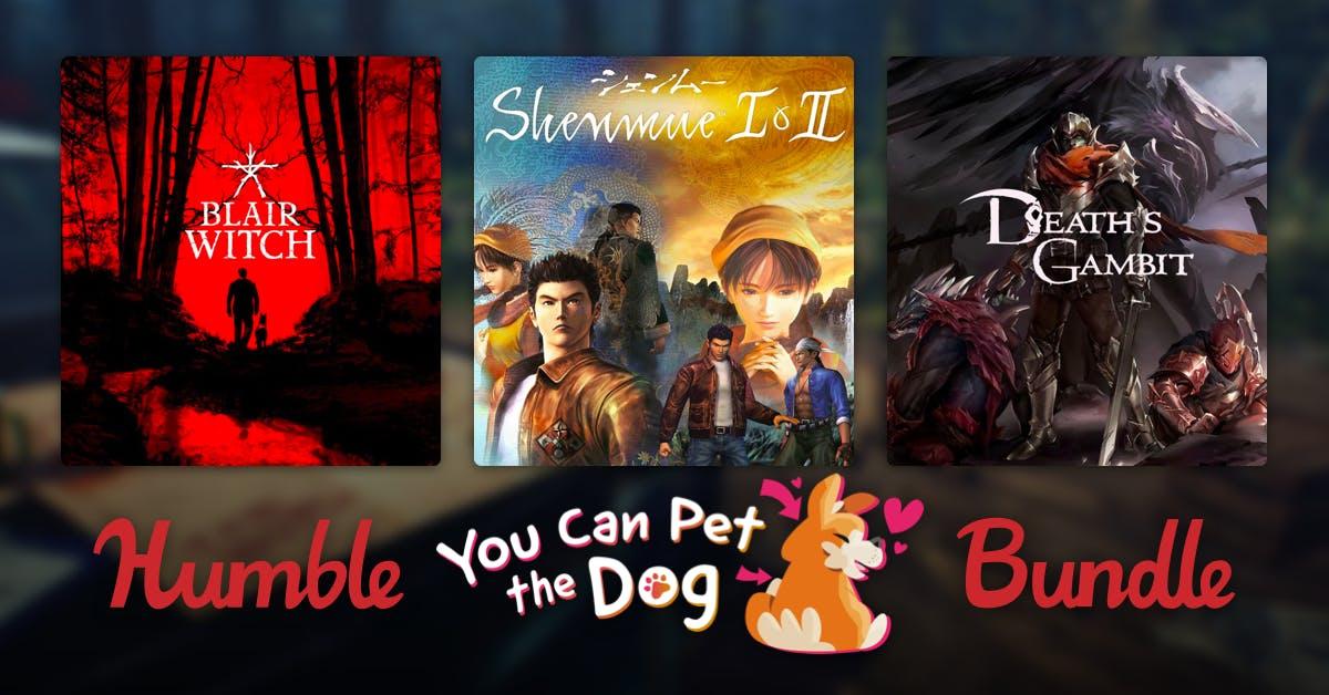 Humble Bundle [PC]: Humble You Can Pet the Dog Bundle - Hasta 8 juegos y 2 OST (para Steam)