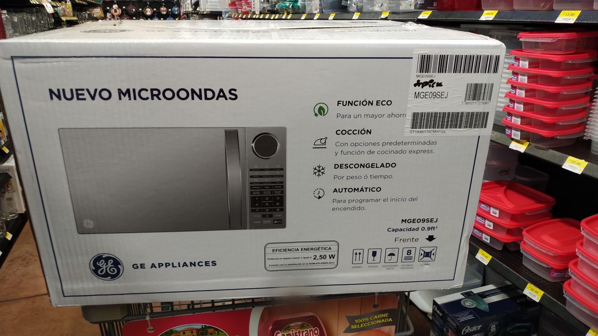 Walmart: Horno de microondas espejo .9 pies