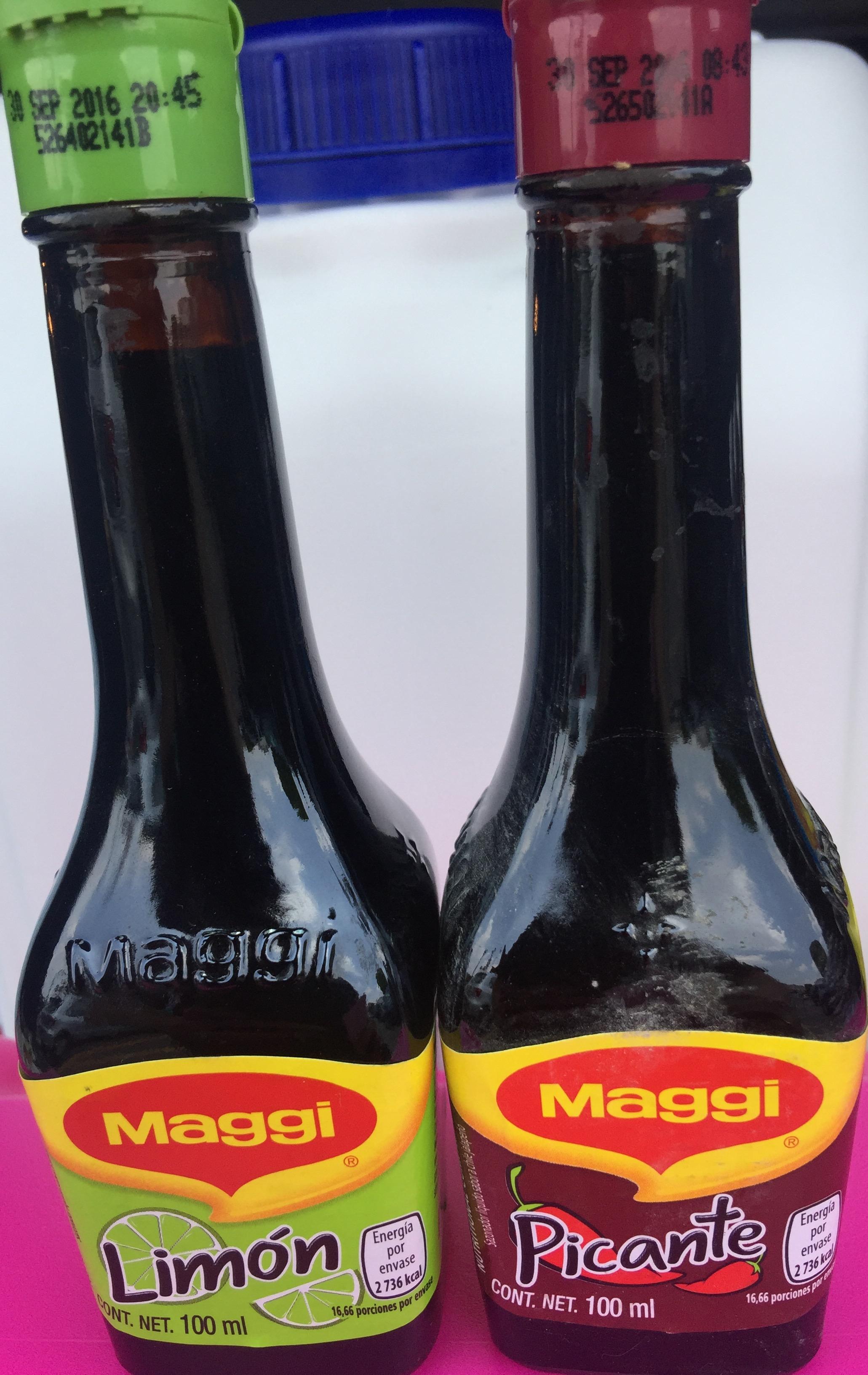 Walmart : liquidación de jugo Maggy picante y de limón de 35 a 6.01