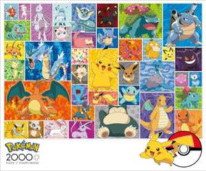 Amazon:Buffalo Games Pokémon - Puzzle de 2000 Piezas, diseño de Pokémon