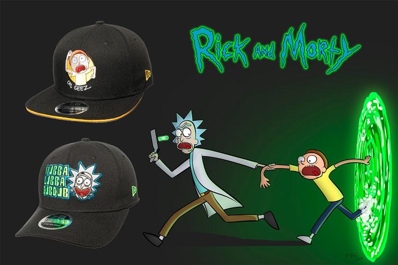 Innvictus: Gorra de Rick & Morty - New Era 9fifty para
