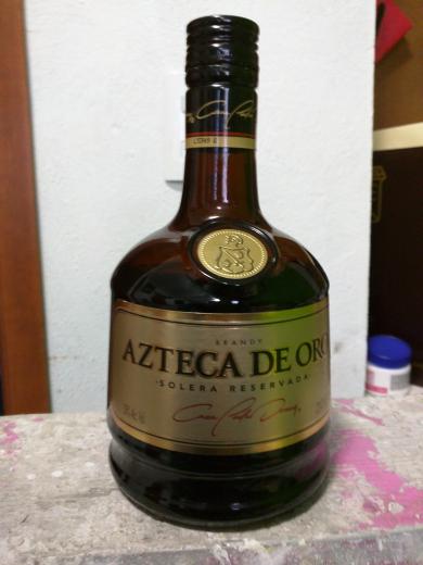 Chedraui San Esteban: Brandy Azteca Oro a $99