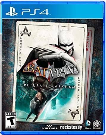Amazon: PS4 - Batman: Return to Arkham
