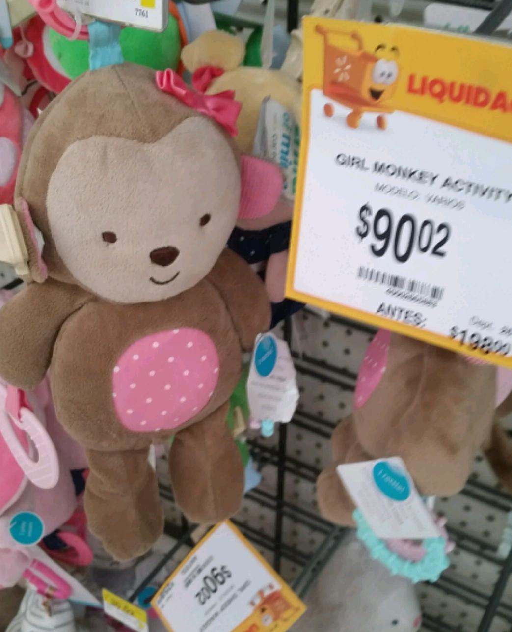 Walmart Reforma Saltillo: juguetitos para bebés en liquidación