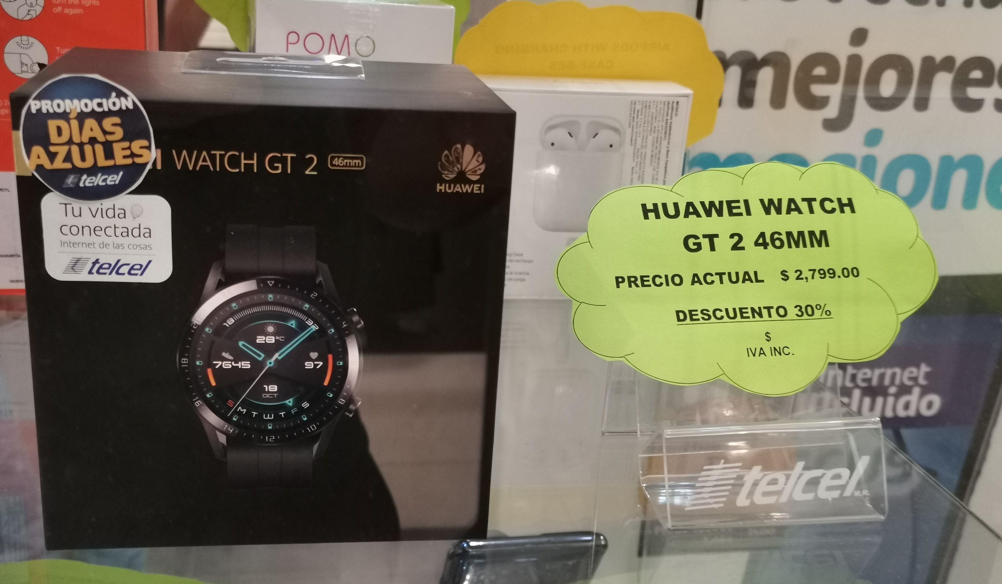 Telcel: Huawei watch gt2 46 mm