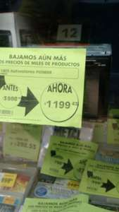 Comercial Mexicana: autoestereo Pionner 2din a $1,119
