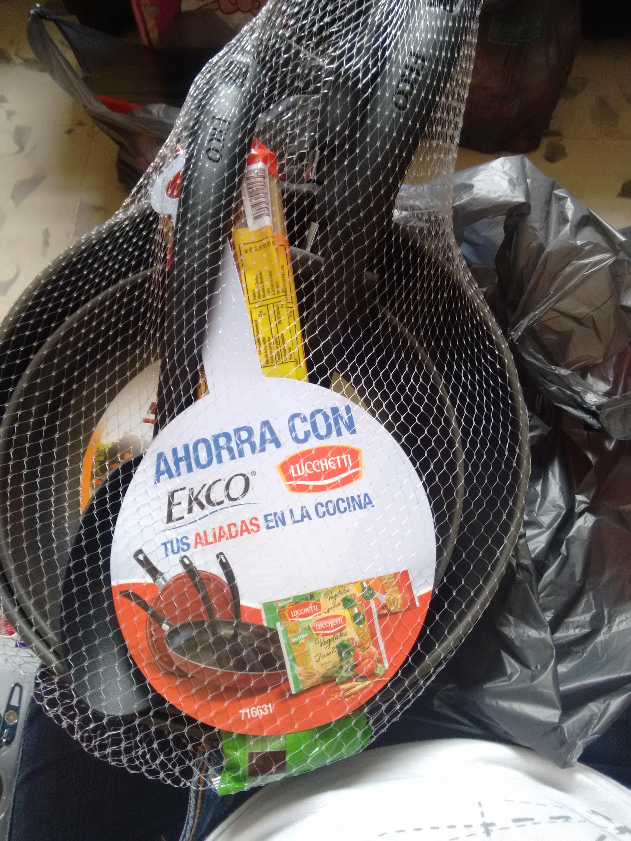 Bodega Aurrerá: Par de sartenes Ecko a $99