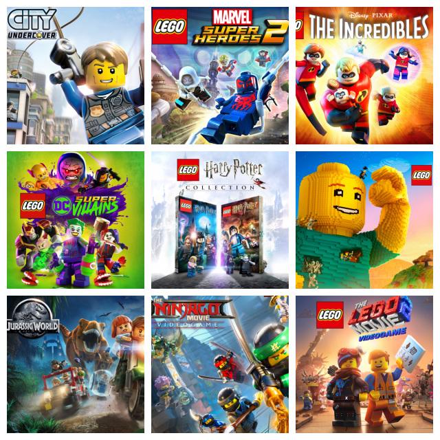 NIntendo eShop: Rebajas en Juegos Lego [Nintendo Switch]