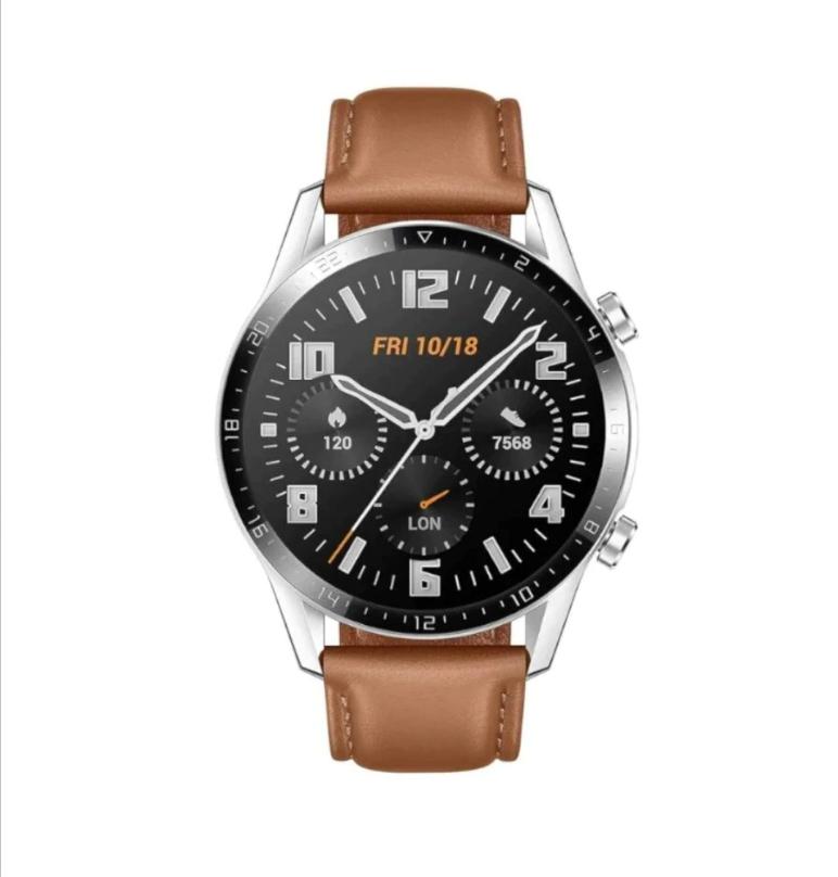 Claroshop: Smartwatch Huawei Watch GT 46mm Correa de silicón tipo Piel