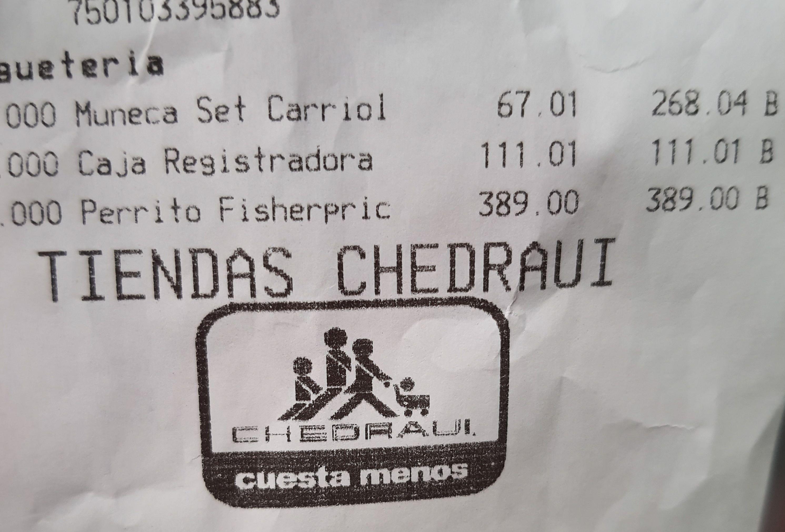 Chedraui: Muñeca baby joy con carreola chedraui