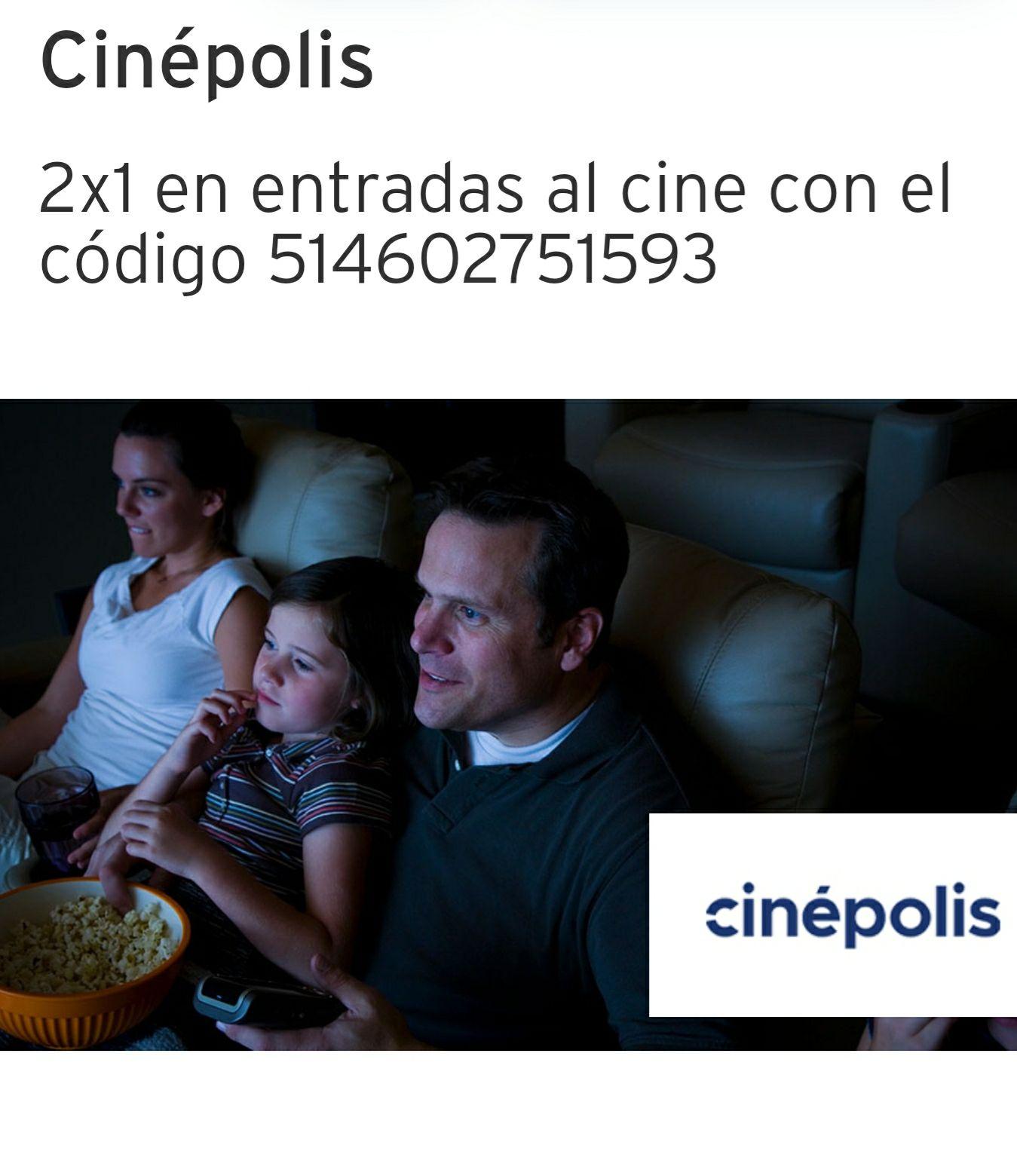 CINEPOLIS: 2X1 EN ENTRADAS PAGANDO CON TDC CITIBANAMEX