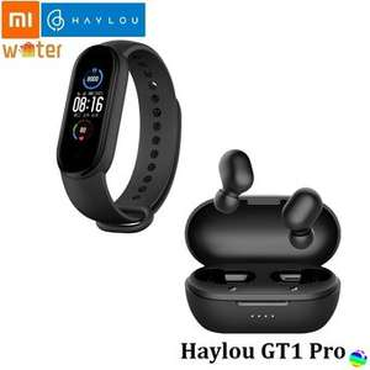 Linio: Haylou GT1 Pro Auriculares+Xiaomi Band 5 Pulsera inteligente (con PayPal)
