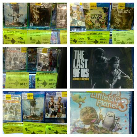 Comercial Mexicana Mega: varios títulos de Playstation 4 y Xbox One con descuento.
