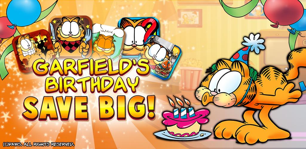 App Store: juegos de Garfield completamente gratis por tiempo limitado !