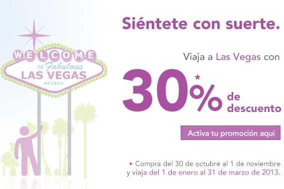 Volaris: 30% de descuento a Las Vegas