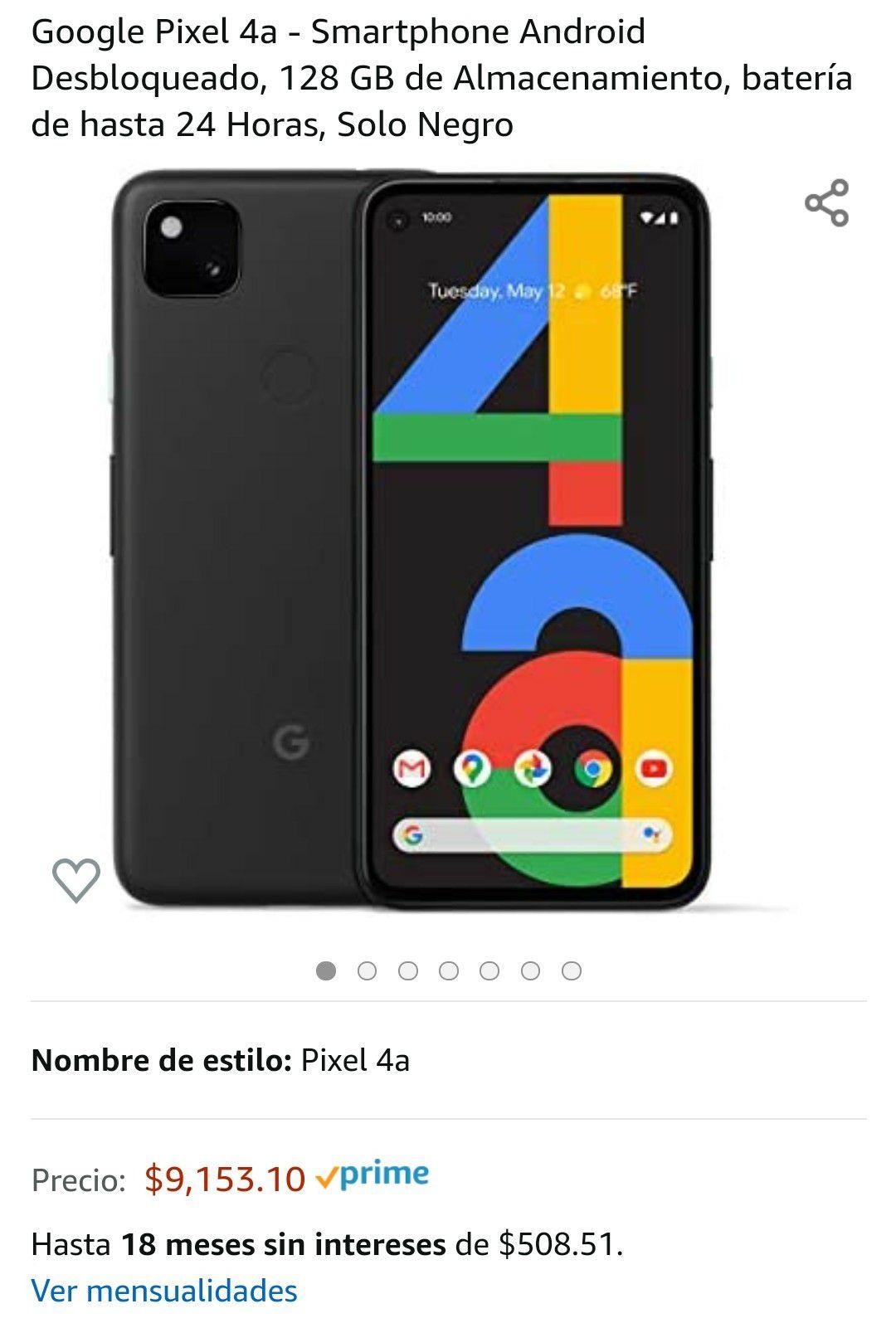 Amazon: Google Pixel 4a
