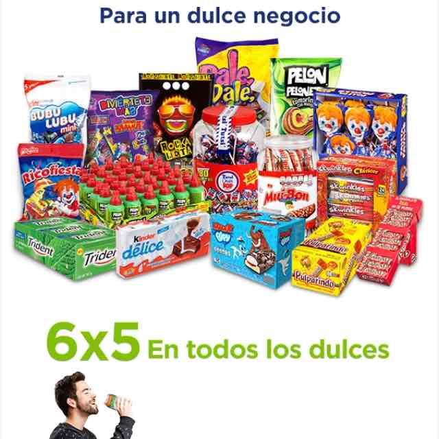 Sam's Club: 6x5 en todos los dulces
