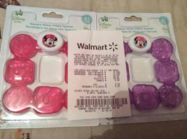 Walmart: mordederas con licencia Disney baby a $10