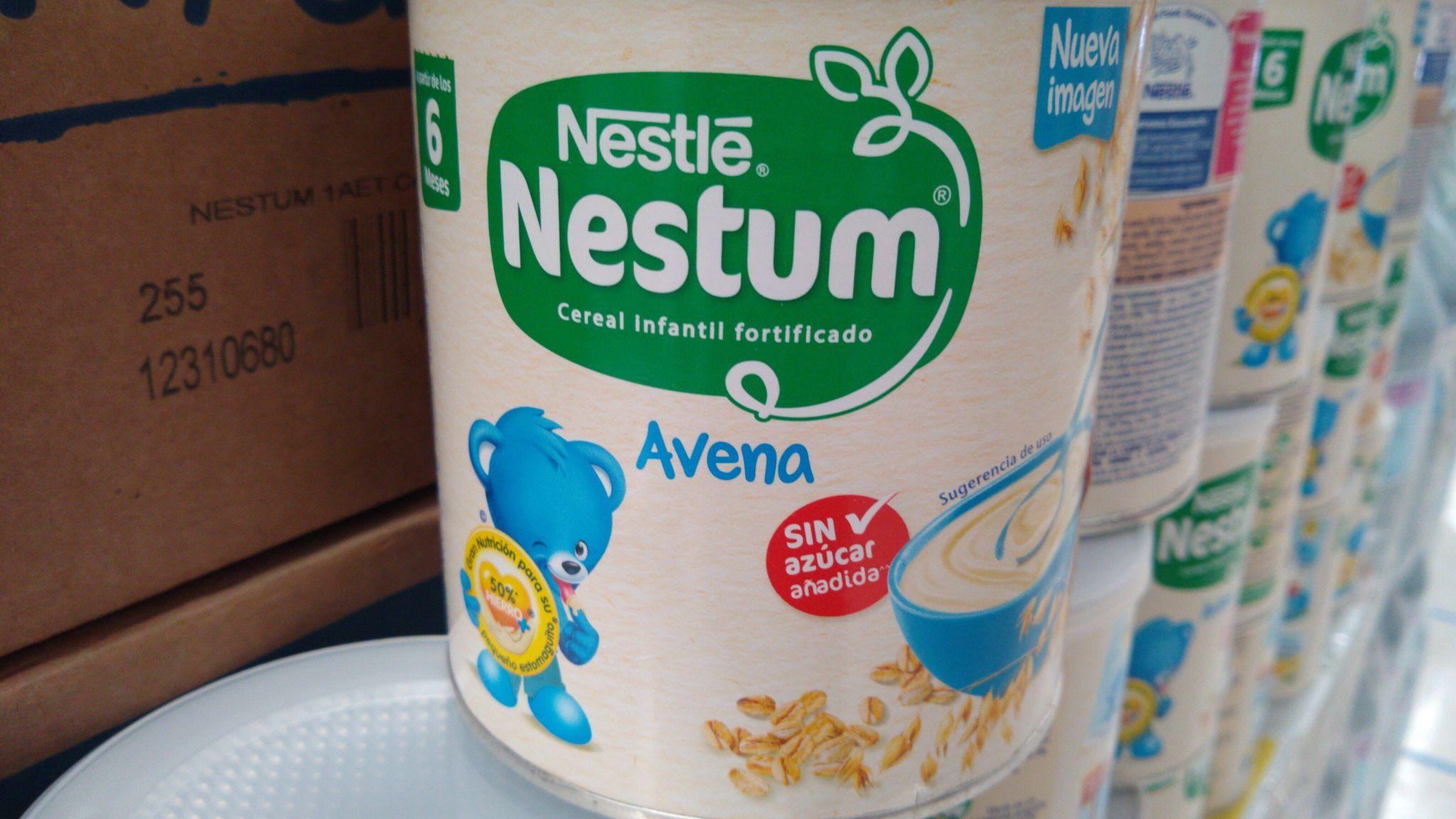 Soriana: Avena para bebe Nestum