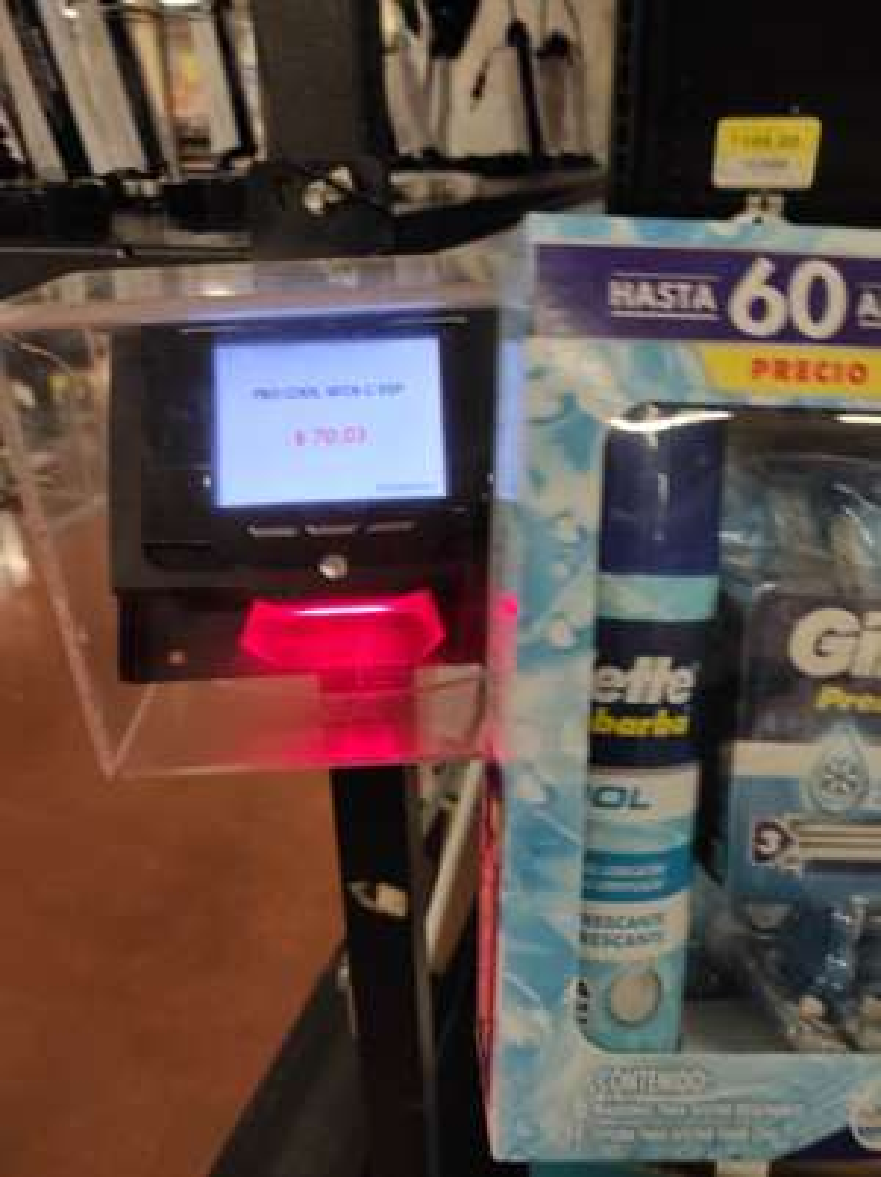 Walmart:Rastrillos Gillette 7 pack (6 rastrillos y 1 crema de afeitar)