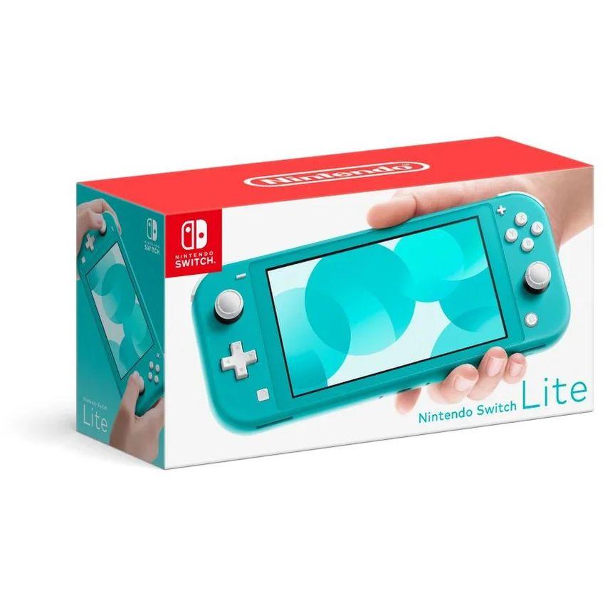 Linio: Nintendo Switch lite turquesa pagando con paypal