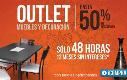 Linio: hasta 50% de descuento en el outlet de muebles y decoración
