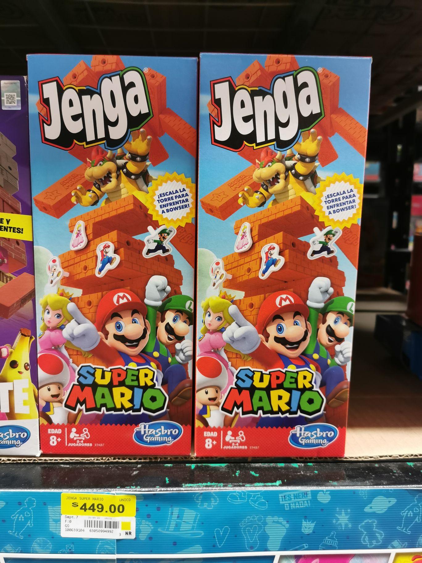 Walmart: Jenga Super Mario Bros