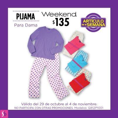Artículo de la semana en Suburbia: pijama para dama $135
