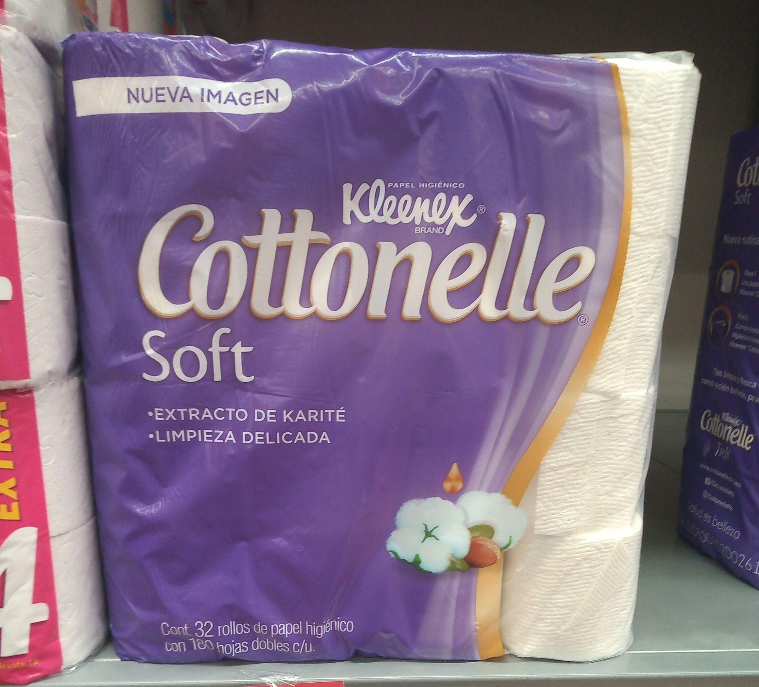 Walmart: Kleneex Cotonelle 32 rollos