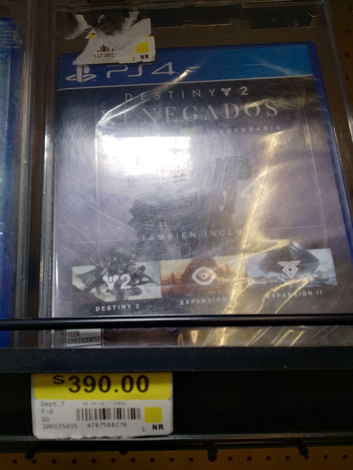 Walmart: Destiny 2 Renegados Colección Legendaria para PS4