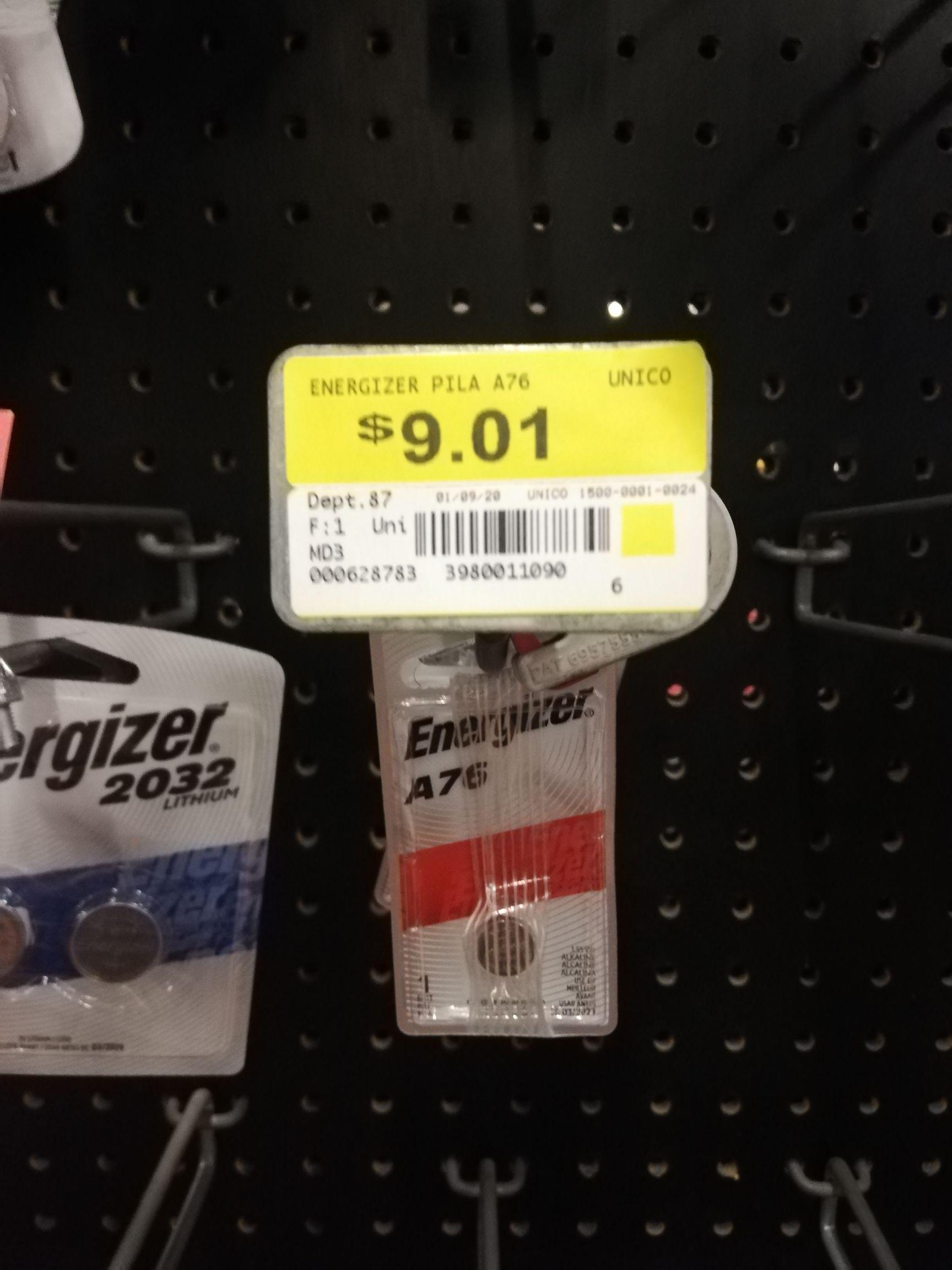 Walmart - Pilas A76, para relojes o calculadoras