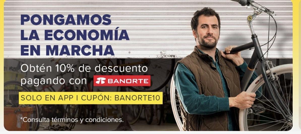 Mercado libre: 10% de descuento pagando con Banorte [Leer TyC]