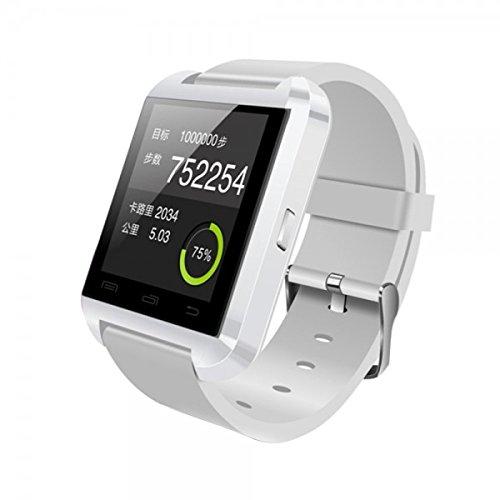 Amazon: Smartwatch U8  blanco de $1,140 a $287 envío gratis a partir de $600