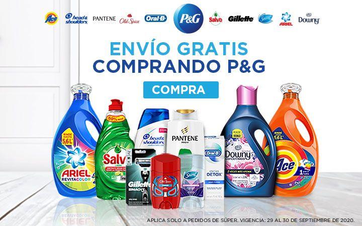 Chedraui: Envío gratis comprando P&G