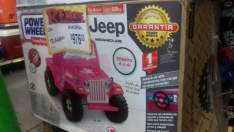 Bodega Aurrerá Insurgentes Sur: Power Wheels Jeep Wrangler a $976.03