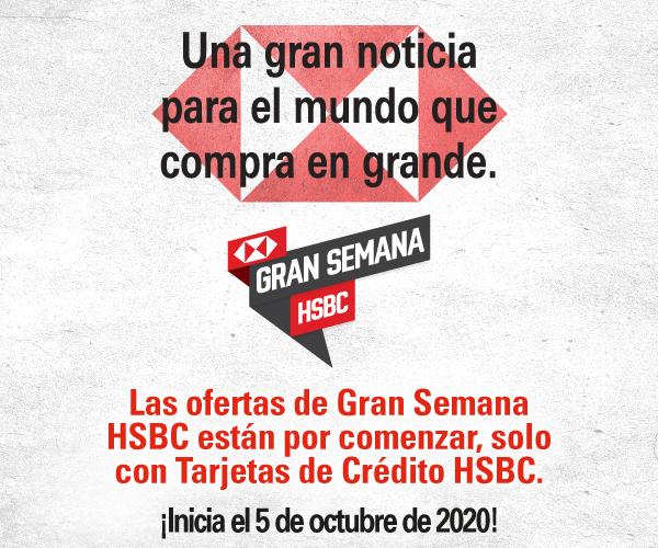 HSBC: GRAN SEMANA HSBC INICIA 5 OCTUBRE