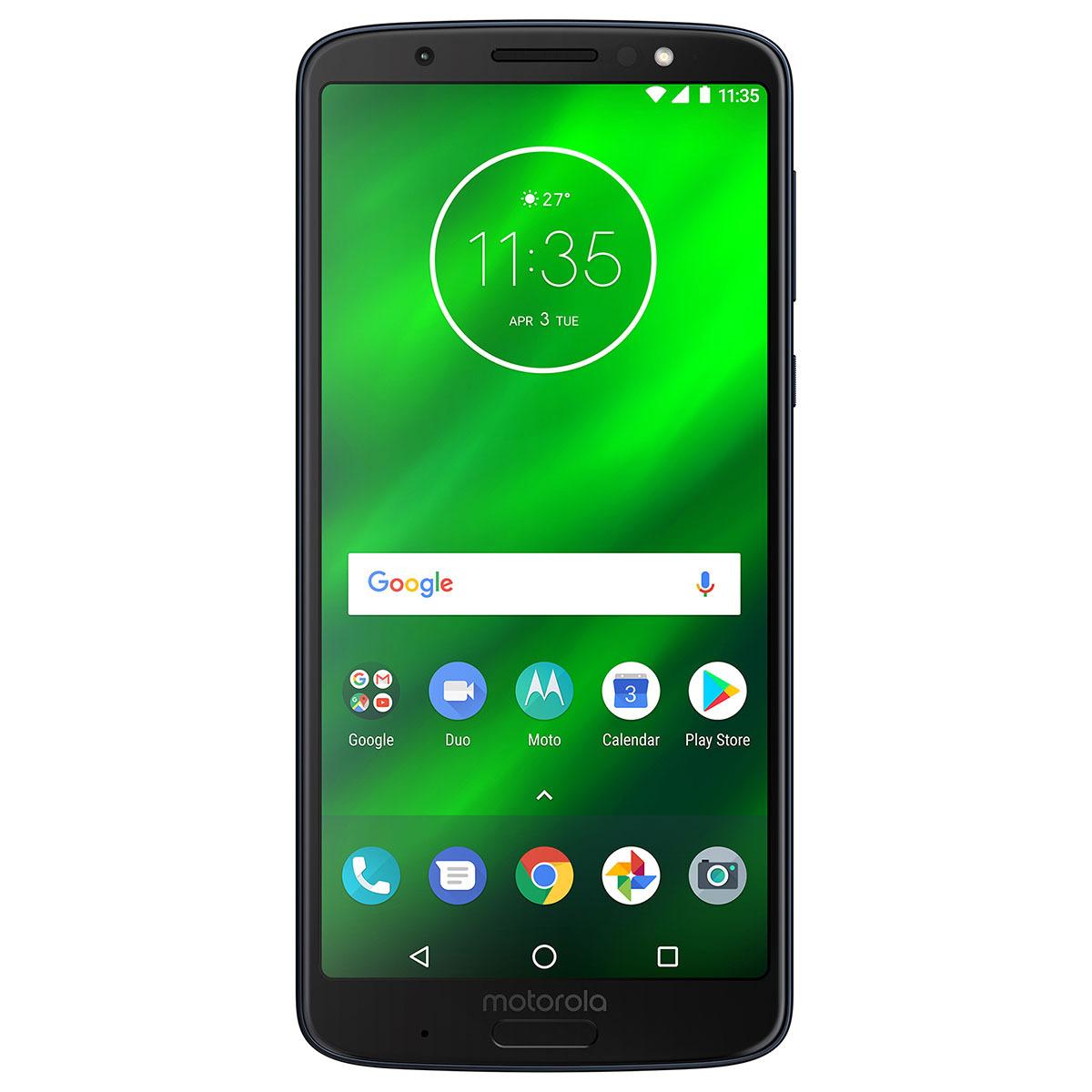 Chedraui: Telcel Moto G6 Plus 64GB Deep Indigo
