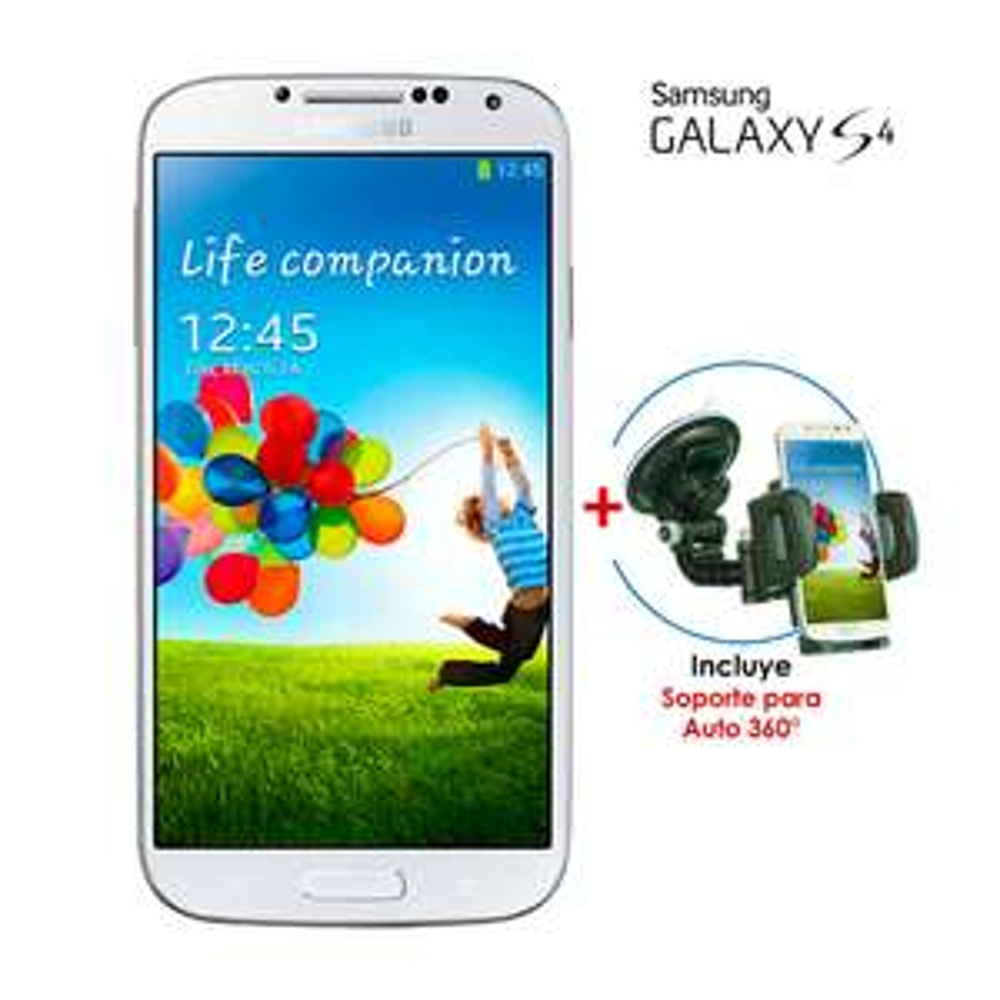 Walmart en línea: Galaxy S4 y Soporte de parabrisas