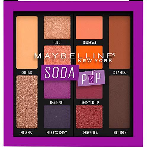 Amazon:Maybelline Paleta de Sombras para Ojos, Soda Pop, 7.4 g