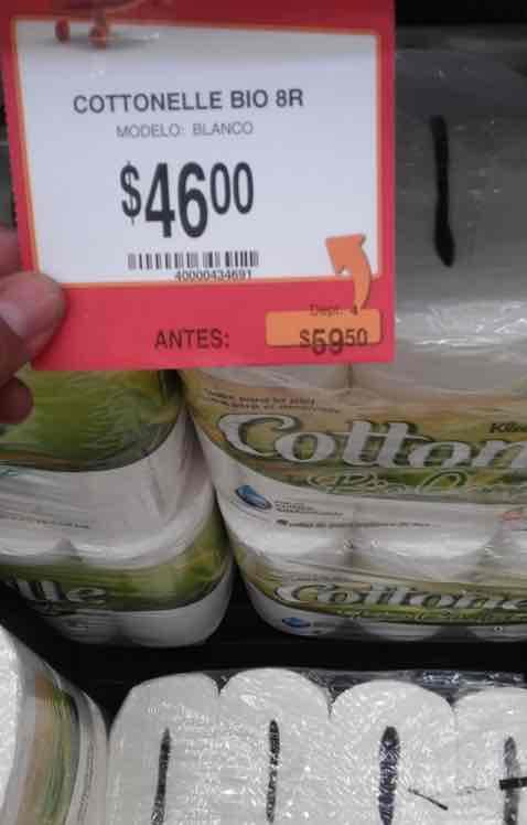 Walmart Santa Elena: Cottonelle Bio Compact 8 Rollos