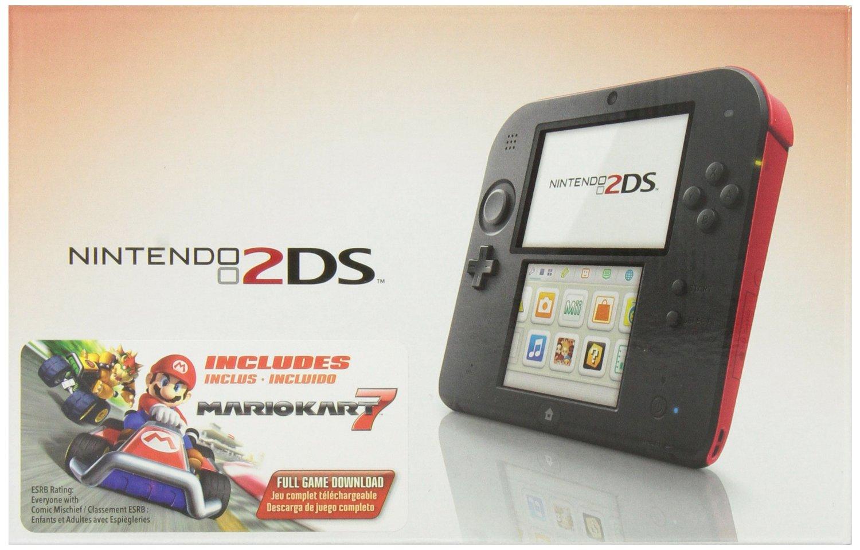 Amazon: Nintendo 2DS Crimson Red with Mario Kart 7 a $2,129 (Vendido por un tercero)