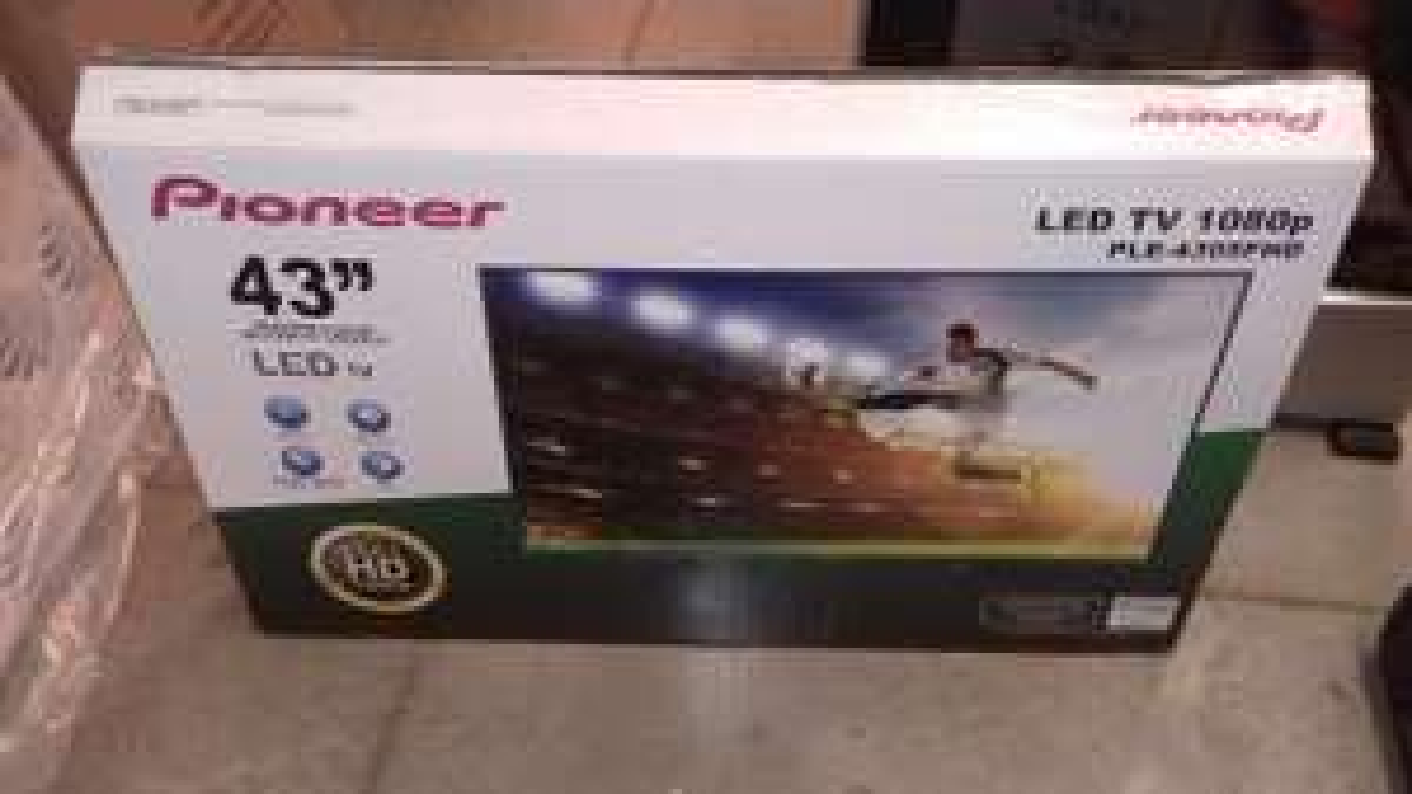 "Bodega Aurrerá: pantalla Pioneer 43"" LED Full HD a $3,199.01"