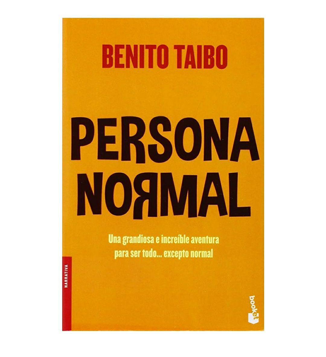 Amazon: Libro Persona Normal de Benito Taibo - Pasta blanda