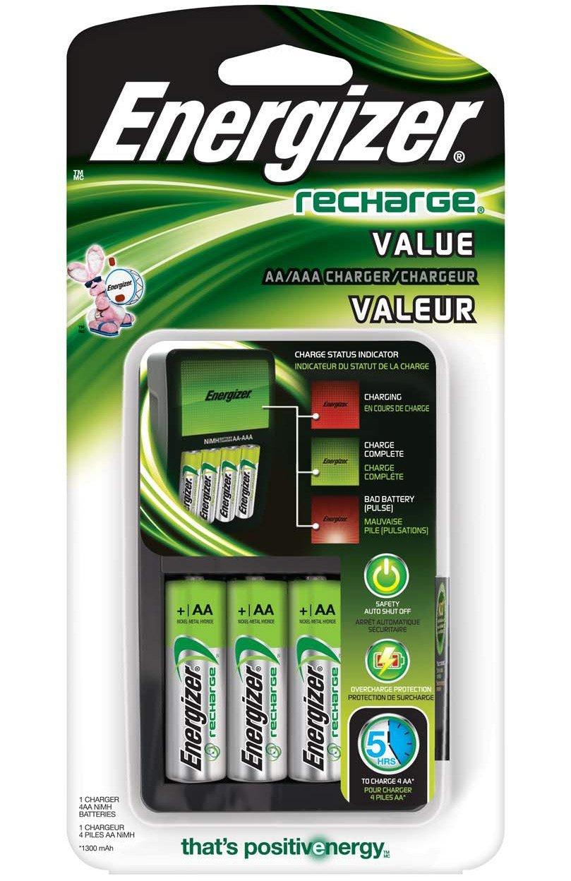 Amazon: Cargadores de baterías Energizer