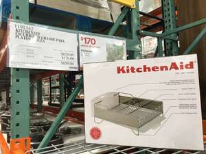 Costco: KitchenAid escurridor de acero inoxidable