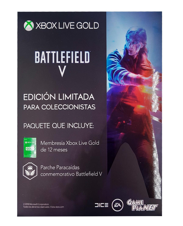 Tarjeta xbox live gold 12 meses + parche battlefield o MK gameplanet