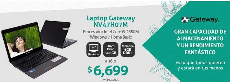 PCEL: Ultrabook HP i5 $9,999, Gateway i3 $6,699, Laptop HP $5,999 y más