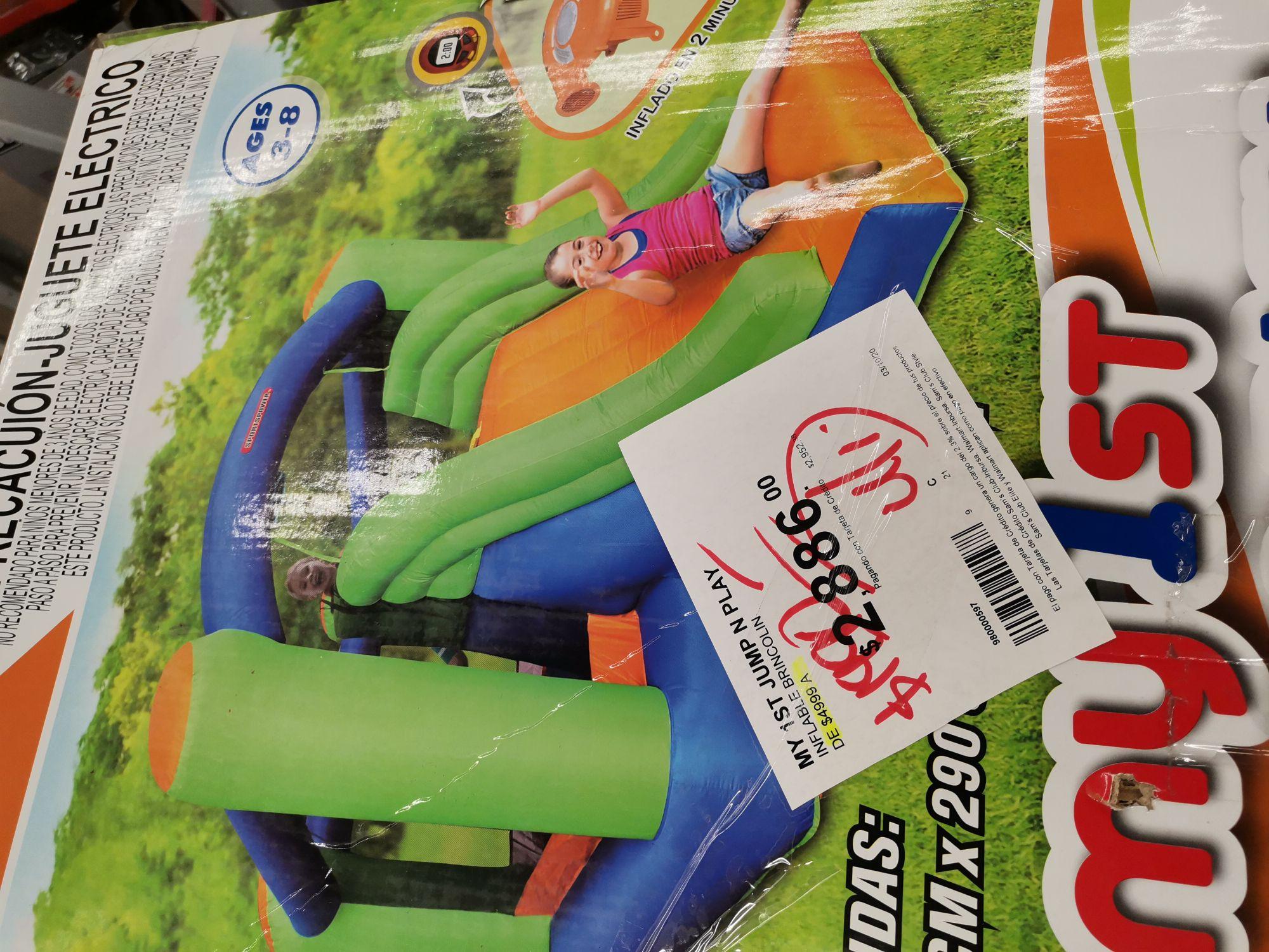 Sam's Club Puerto Vallarta : inflable brincolin