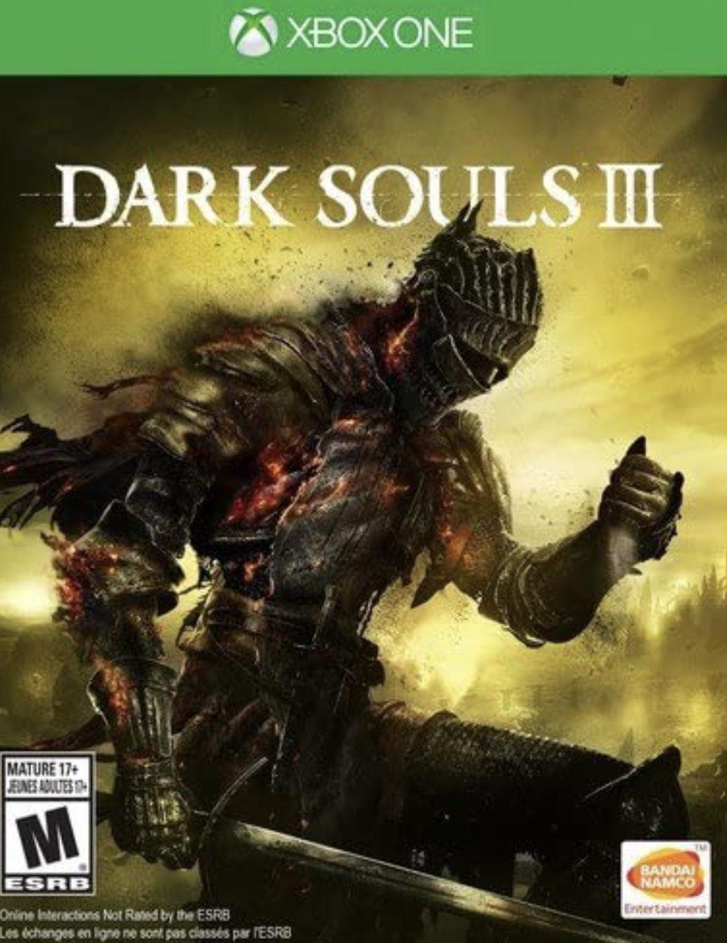 Amazon: Dark Souls III - Xbox One - Standard Edition