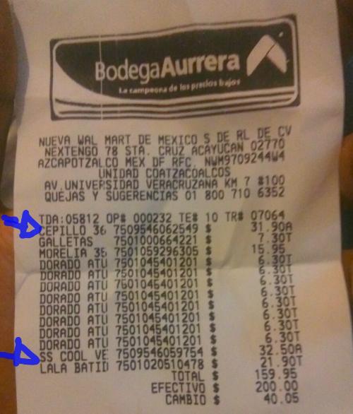 Bodega Aurrerá Coatzacoalcos: varios desodorantes en oferta